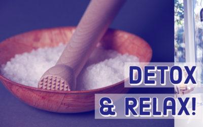 Epsom Salt Bath Detox & Relaxation